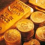 монеты золотом фото
