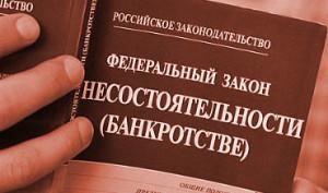 закон о банкротстве инструкция